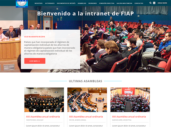 Intranet Fiap
